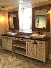 35 Ideas for Rustic Bathroom Vanities So yes, the bathroom vanity needs to be personalized. In today's post, we list a few ideas related to rustic bathroom vanities. Rustic Bathroom Designs, Rustic Bathroom Decor, Modern Farmhouse Bathroom, Rustic Bathrooms, Bathroom Styling, Rustic Farmhouse, Farmhouse Style, Farmhouse Design, Rustic Decor