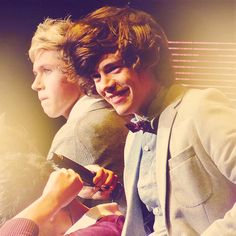 Nialler and Hazza <3 One Direction :)