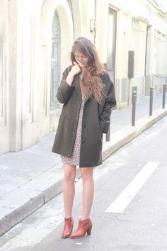 Robe WAX KO KO / Manteau HUMPHREY / Boots ST LOUIS