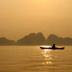 Weight Loss Retreat In Vietnam Canoes On The Gorgeous Beach