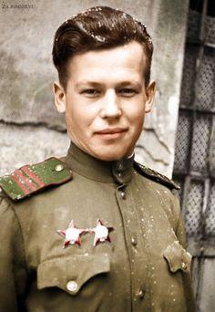 Soviet soldier Petr Husak - 2nd Ukrainian Front Budapest January 27th 1945