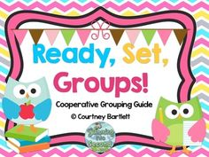 Ready, Set, Groups: Cooperative Grouping Guide | Swimming in Second | {1-3}