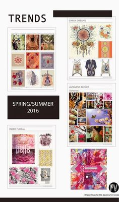 Style Right Womenswear Trendbook is a comprehensive trend publication. This issue has 8 trend themes for the Spring/Summer 2016 season which is presented in 100 full-color pages of fashionable casual and sporty women's collections. Trends 2015 2016, Summer 2016 Trends, 2016 Fashion Trends, Spring Trends, Spring Summer 2016, Colorful Fashion, Fashion Colours, Arte Fashion, Fashion Fashion