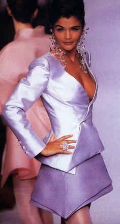 HELENA CHRISTENSEN Lanvin Show S/S 1991