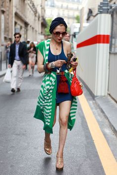 Catherine Baba.  Slideshow: Street Style From the Haute Couture Shows -- The Cut