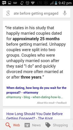how long should date before relationship
