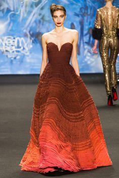 Naeem Khan gown 8 Also, Oscar prediction #oscarprediction