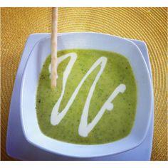 Describe tu pin...sopa de zapallo italiano, con albaca y curry!