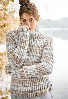 Lana Grossa PULLI Alta Moda Cashmere 16  - FILATI CLASSICI No. 11 - Modell 1 | FILATI.cc WebShop