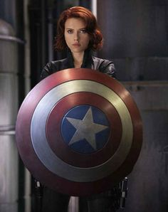 """She could carry Captain America's shield. 
