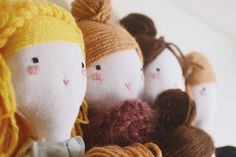 handmade cloth dolls by ploudoll on etsy  ploudoll.esty.com   #clothdoll #ragdoll #handmadedoll #ploudoll #muñecadetela #muñecadetrapo