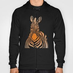 Zebra Hoody by vladimirceresnak Hoodies, Sweatshirts, Kangaroo, The Selection, Zip Ups, Crafting, Articles, Cozy, Hands
