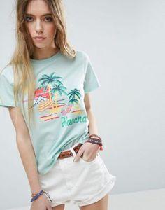 ASOS T-Shirt with Postcard Print