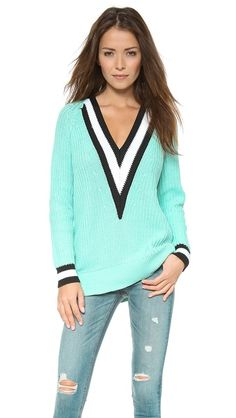 Rag & Bone Talia V Neck Sweater. MUST HAVE!!!!