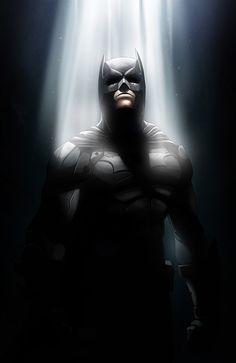 The Dark Knight by Nimesh Niyomal