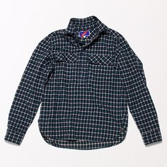 flannel pullover / best made