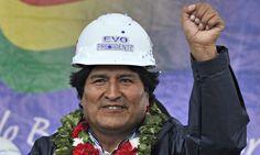 Evo Morales tiene éxito