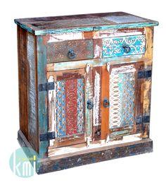 #mebleindyjskie wyjatkow akomoda ze starymi stemplami drukarskimi http://karinameble.pl/