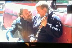 Charlie and Ryan (Jax and Opie) blooper reel from season 4 of Sons of Anarchy