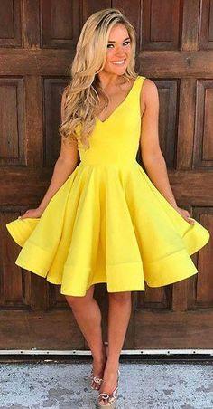 Gelbes Kleider für Hochzeitsgäste, Hier Sind Elegante Kleider   Sexy und  Schöne Kleider - Elegante 1c4f6a1ff8