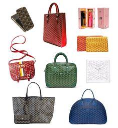 018e806cba6 Goyard products Goyard Luggage, Goyard Tote, Goyard Handbags, Tote Purse,  Leather Handbags