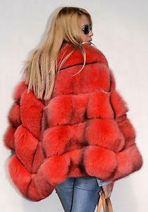 4e243a39bc7f59 Royal saga fox fur coat jacket fuchs pelz wie zobel sable mink nerz  chinchilla