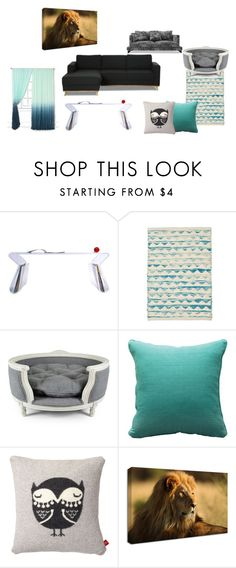 """""""Lounge"""" by coffeeyolo173 on Polyvore featuring interior, interiors, interior design, home, home decor, interior decorating, Calypso St. Barth, Lord Lou, Fogarty and Donna Wilson"""