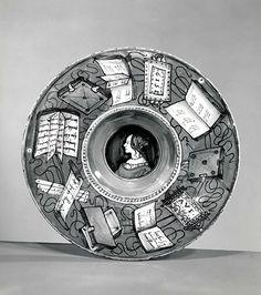 probably workshop of Maestro Giorgio Andreoli | Plate (tondino) | The Met