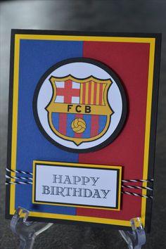 FC Barcelona Birthday Card!