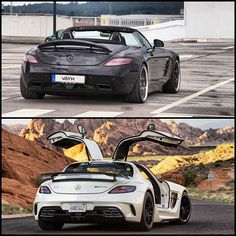 Mercedes SLS coupe with Gullwing doors or SLS Roadster? What are your thoughts?