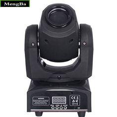 4PCS/Lot Free shipping HOT Eyourlife LED  Pocket Spot Mini Moving Head Light White 30W spot moving  Pattern  Lights DMX dj
