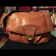 Coach leather purse Authentic Coach brown leather purse, no dust bag Coach Bags Shoulder Bags