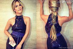Giovanna Ewbank, mulher de Bruno Gagliasso, apostou no vestido de paetê de Pedro Lourenço e no...