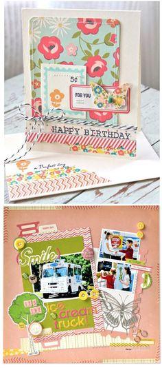 Scrapbooking Supplies & Scrapbook Deals, - Peachy Cheap - i like the card design