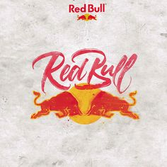 David Milan is a lettering and calligraphy artist from Madrid, Spain, who has created a brilliant series which takes some of the world's most famous brand logos Types Of Lettering, Lettering Design, Hand Lettering, Letter Logo, Letter Art, Redbull Logo, Bulls Wallpaper, Logo Design Examples, Graphic Design