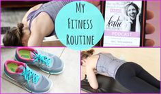 #workout, #yoga, #fitness, ~  My Fitness Routine + How to get Motivated and Healthy!