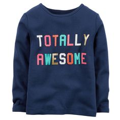 ★ Totally Awesome Tee, Old Navy. even more totally awesome in real life.