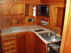 Kitchen..Vintage camper