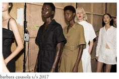 Who likes minimal, low fuss and chic dressing by London-based Brazilian designer Barbara Casasola , will not be disappointed with her S/. Barbara Casasola, Women Wear, Dressing, Meet, Shirt Dress, Chic, How To Wear, Shirts, Collection