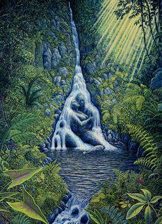 Illusion Paintings, Art Paintings, Original Paintings, Image Illusion, Illusion Art, Flame Art, Visionary Art, Psychedelic Art, Surreal Art