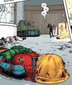 Batman Incorporated #9... I am soooo mad at this... no need to kill off Damian wayne
