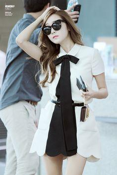 SNSD Seohyun Incheon Airport fashion 140904