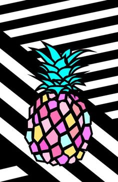 pineapple Art Print by yokosakamoto Arte Pop, Pineapple Art, Pineapple Punch, Creation Art, Poster S, Wow Art, Tumblr Wallpaper, Cute Wallpapers, Print Patterns