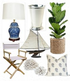 Get the look: India Hick's Caribbean chic Source by lizzysryan Coastal Living Rooms, Coastal Cottage, Coastal Style, Coastal Decor, Lake Cottage, Living Spaces, West Indies Decor, West Indies Style, British West Indies