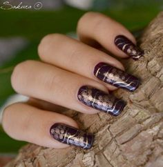 Latest Different Style Of French Nail Art 2014 Nail Art 2014, New Nail Art, Cool Nail Art, Creative Nail Designs, Best Nail Art Designs, Trendy Nail Art, Stylish Nails, Winter Nail Art, Christmas Nail Art