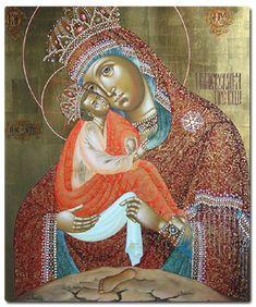 Icon of the Mother of God – Pochaevskaia