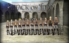 Character Attack on Titan Wallpaper