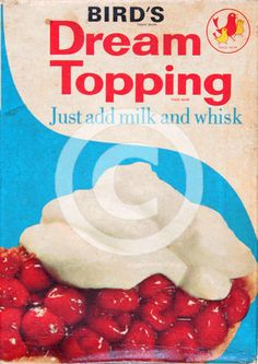 Dream Topping - ooh I loved this!