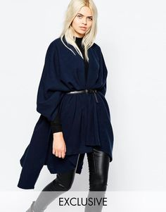 Buy Monki Fine Knit Poncho at ASOS. Get the latest trends with ASOS now. Latest Fashion Clothes, Latest Fashion Trends, Fashion Online, Coats For Women, Jackets For Women, Winter Stil, Knitted Poncho, Blazer, Casual Fall Outfits