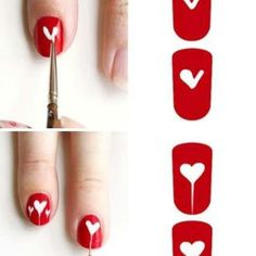 DIY : Valentine's Nails!